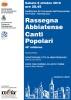 48ª Rassegna Abbiatense Canti Popolari