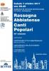 49ª Rassegna Abbiatense Canti Popolari