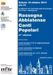 47ª Rassegna Abbiatense Canti Popolari
